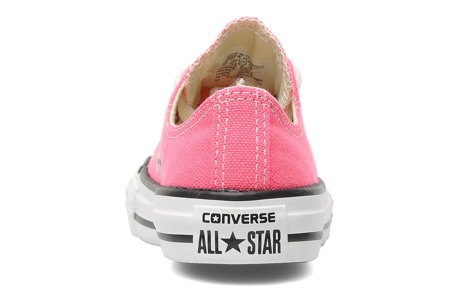 Baskets Converse Chuck Taylor All Star Ox K Rose vue droite