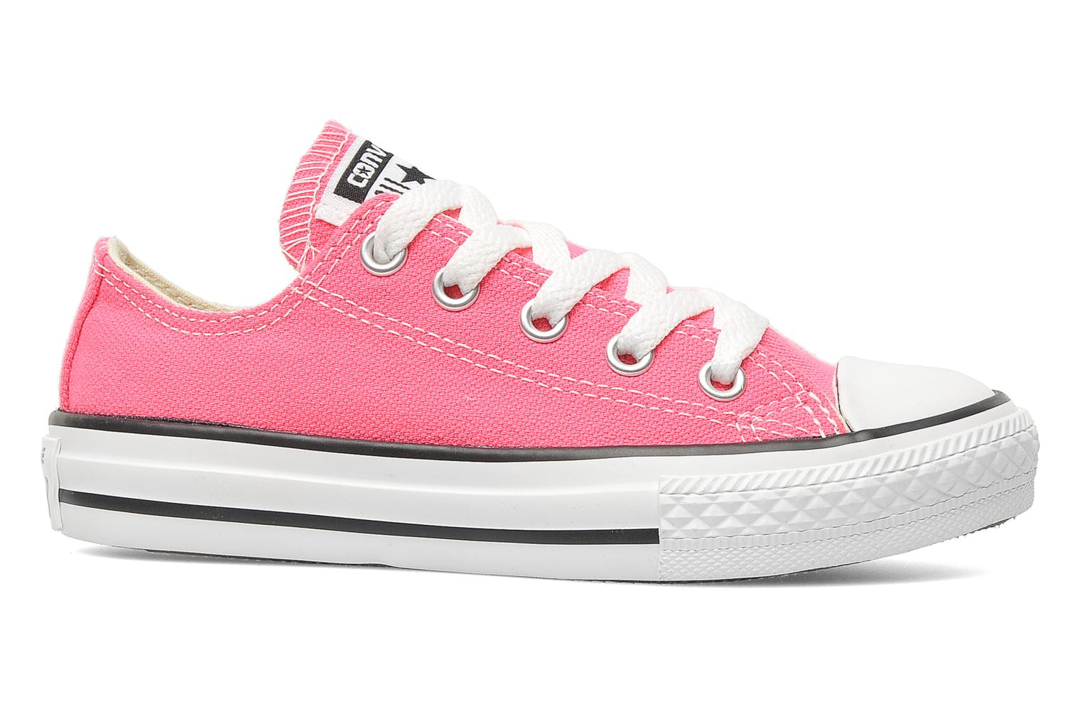 Baskets Converse Chuck Taylor All Star Ox K Rose vue derrière