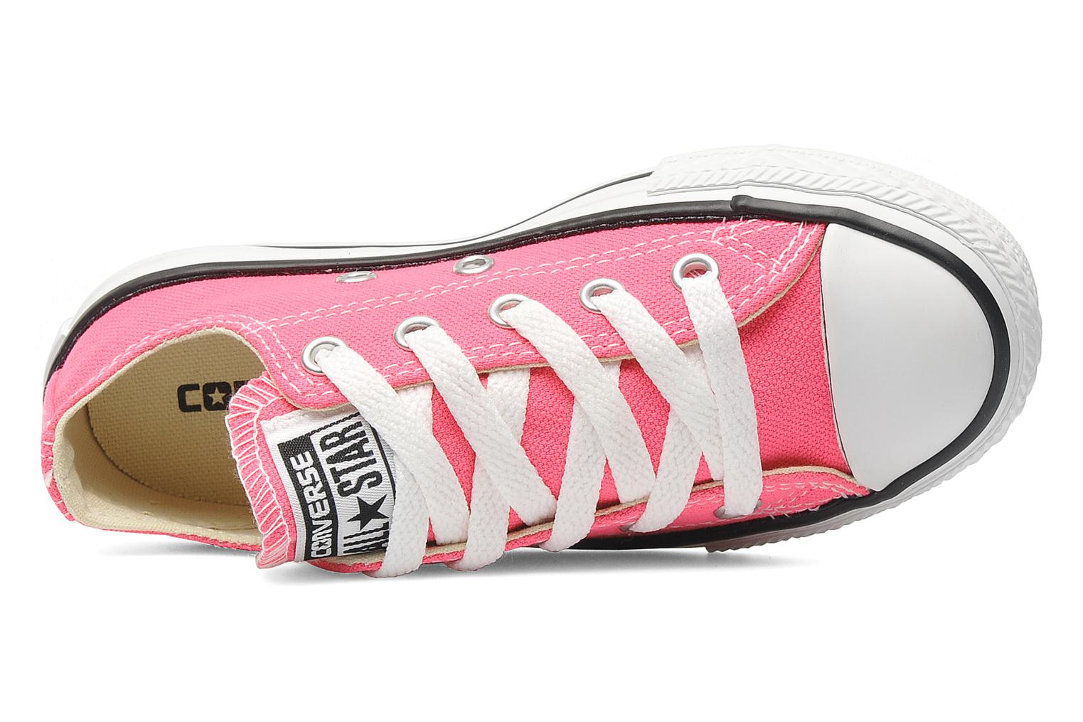 Baskets Converse Chuck Taylor All Star Ox K Rose vue gauche