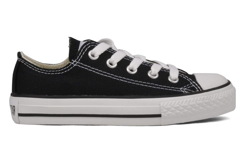 Sneaker Converse Chuck Taylor All Star Ox K schwarz ansicht von hinten