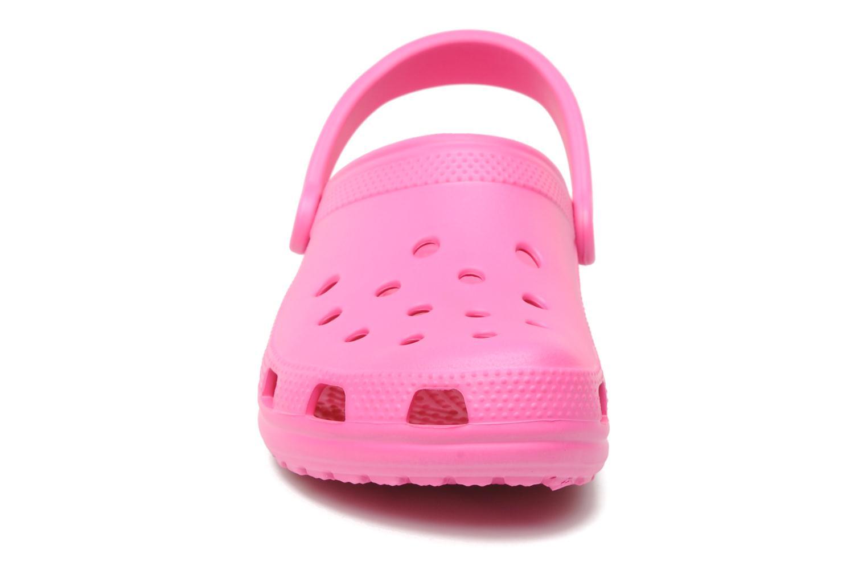 Clogs og træsko Crocs Classic F Pink se skoene på
