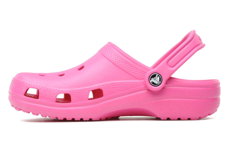 Clogs og træsko Crocs Classic F Pink se forfra