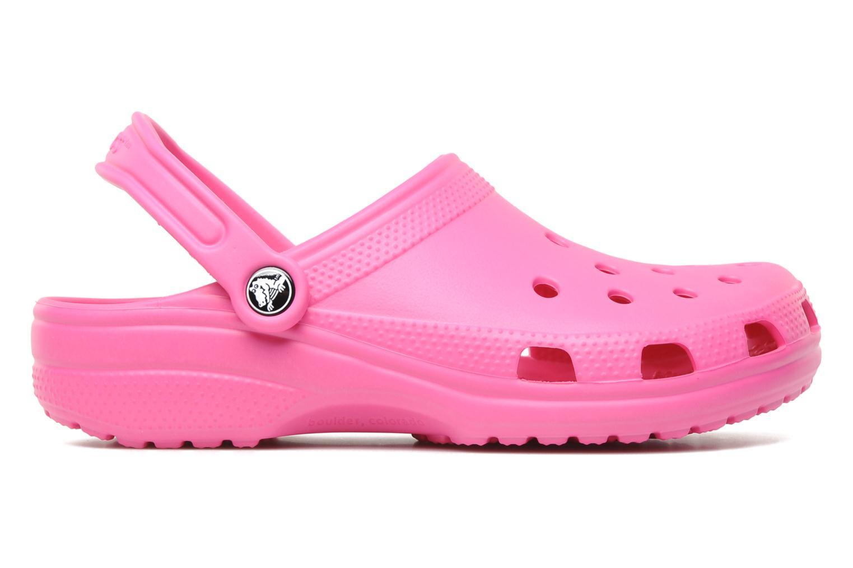 Clogs og træsko Crocs Classic F Pink se bagfra