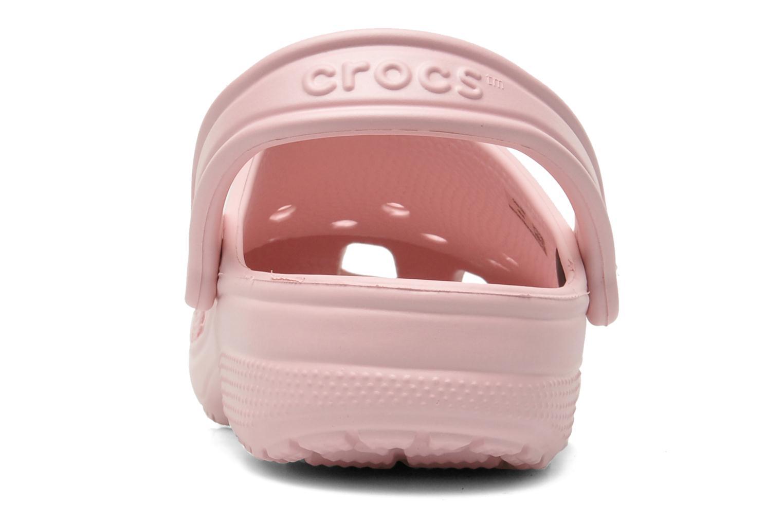 Mules et sabots Crocs Classic F Rose vue droite