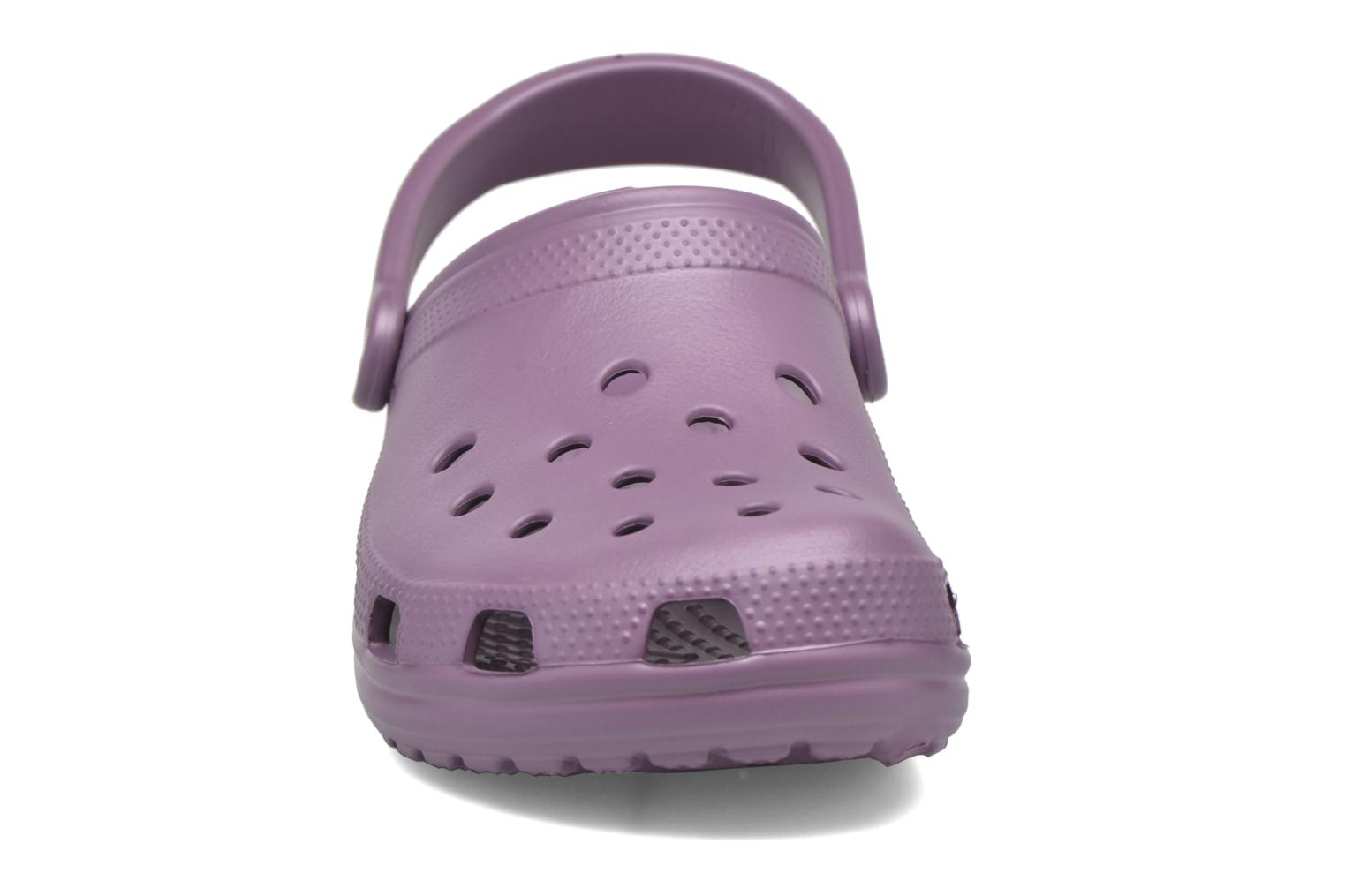 Mules & clogs Crocs Cayman F Purple model view
