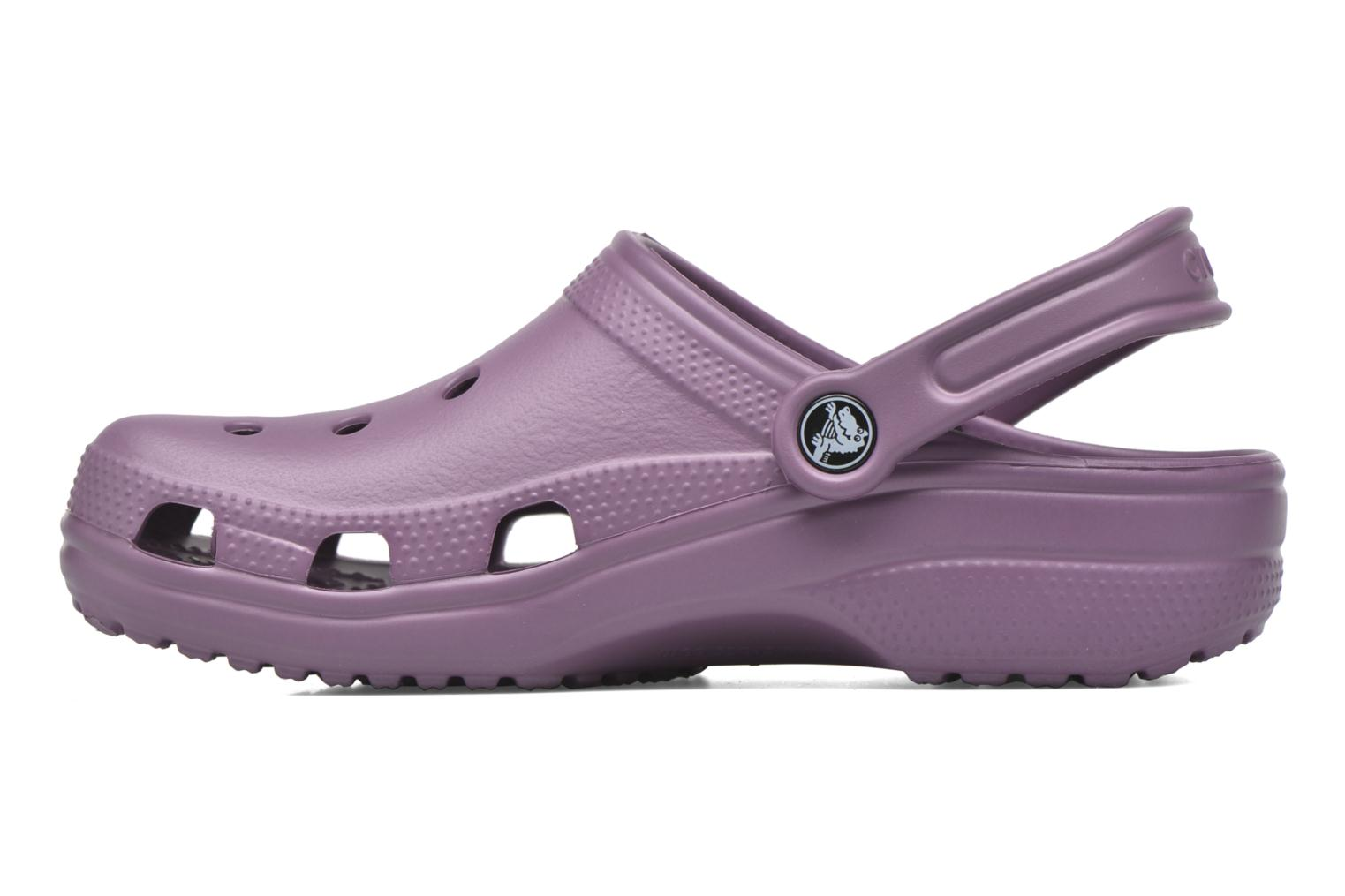 Mules & clogs Crocs Cayman F Purple front view