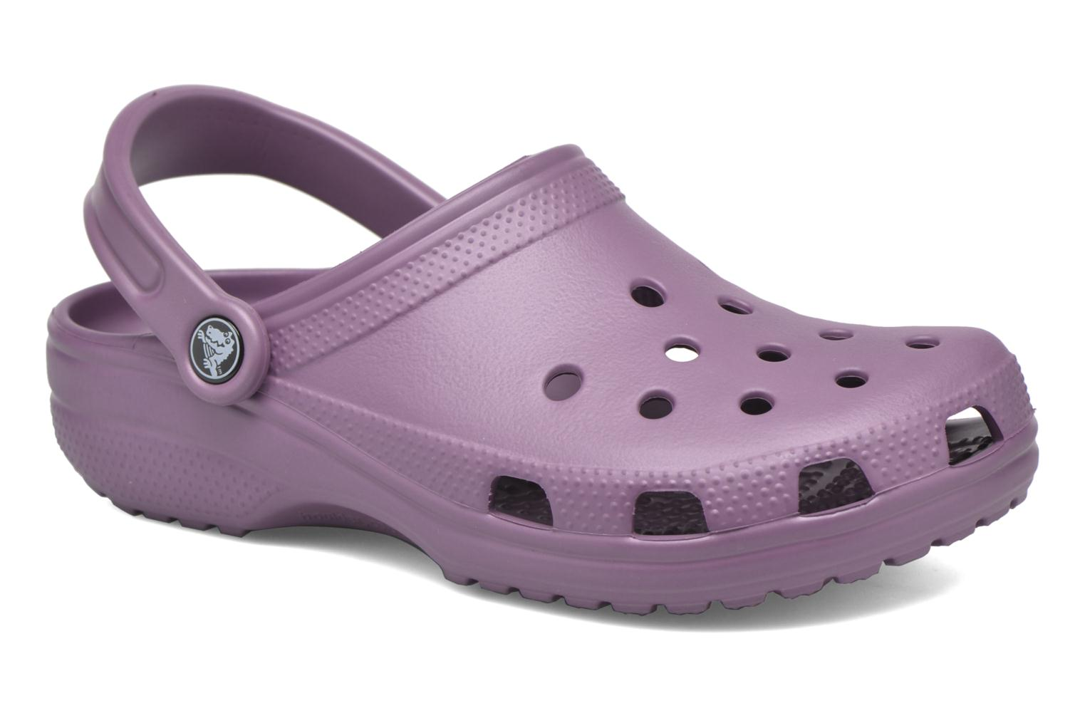 Mules & clogs Crocs Cayman F Purple detailed view/ Pair view