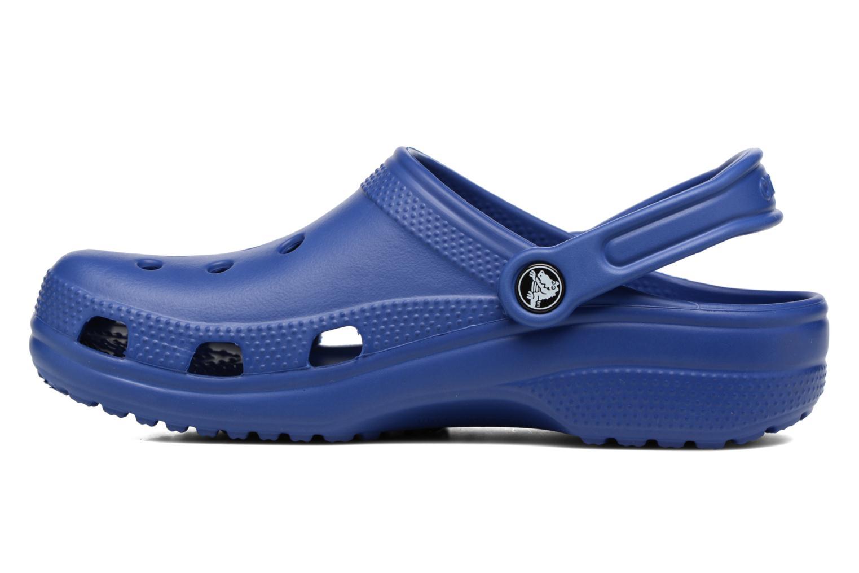 Clogs og træsko Crocs Classic F Blå se forfra