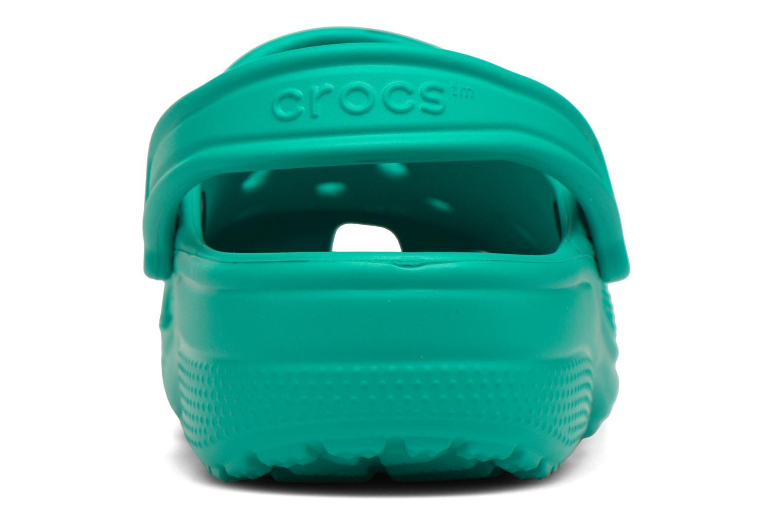 Mules et sabots Crocs Classic F Vert vue droite