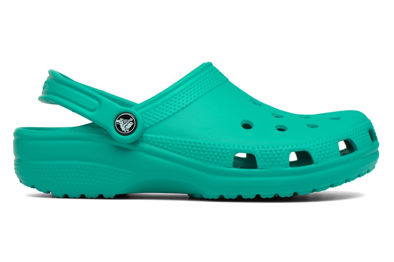 Clogs & Pantoletten Crocs Cayman F grün ansicht von hinten