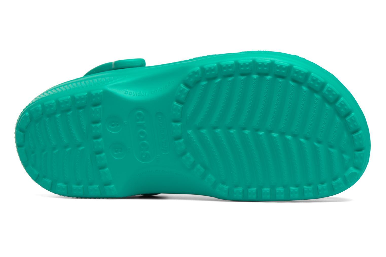 Mules et sabots Crocs Classic F Vert vue haut