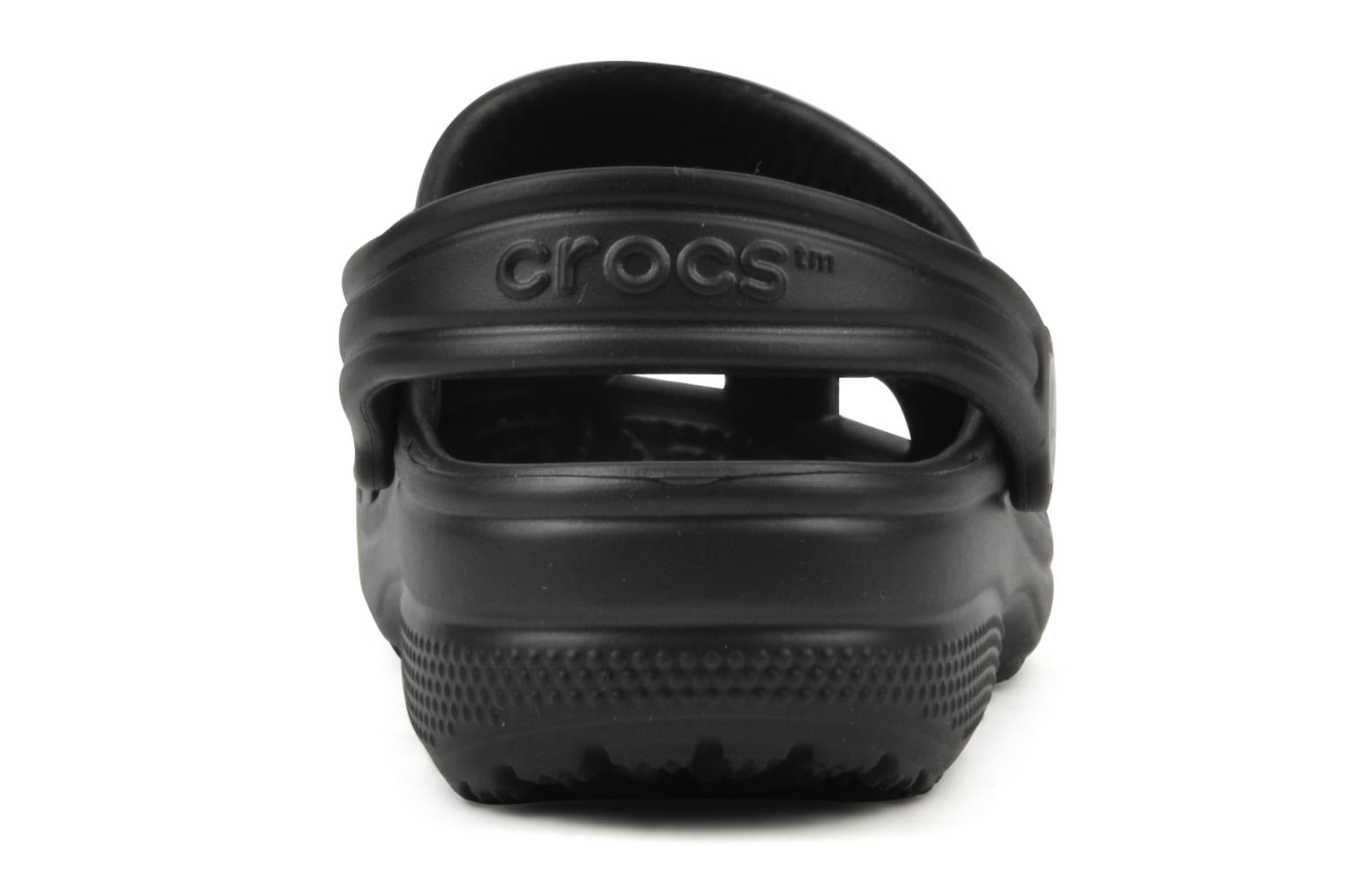 Sandals Crocs Cayman H Black view from the right