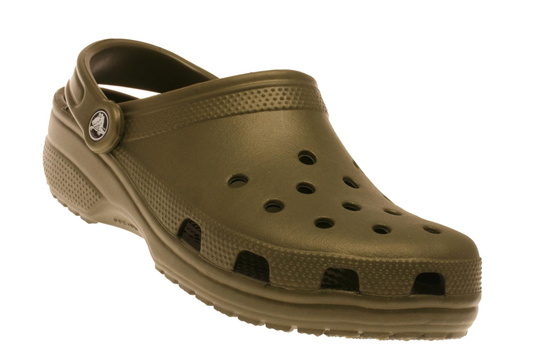 Sandaler Crocs Classic H Grøn detaljeret billede af skoene