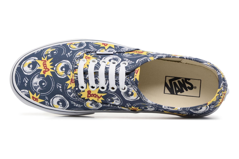 Sneakers Vans Authentic Blå bild från vänster sidan