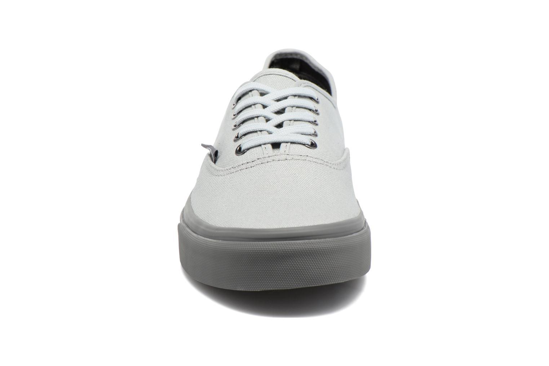 Sneaker Vans Authentic grau schuhe getragen