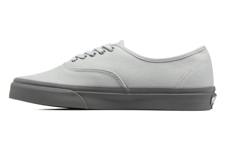 Sneaker Vans Authentic grau ansicht von vorne