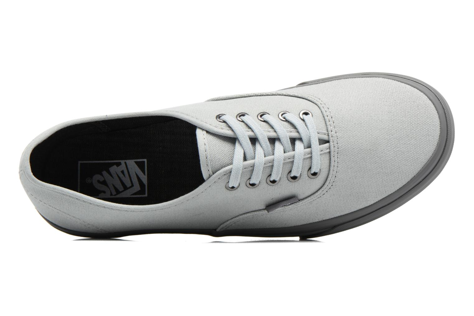 Trainers Vans Authentic Grey view from the left