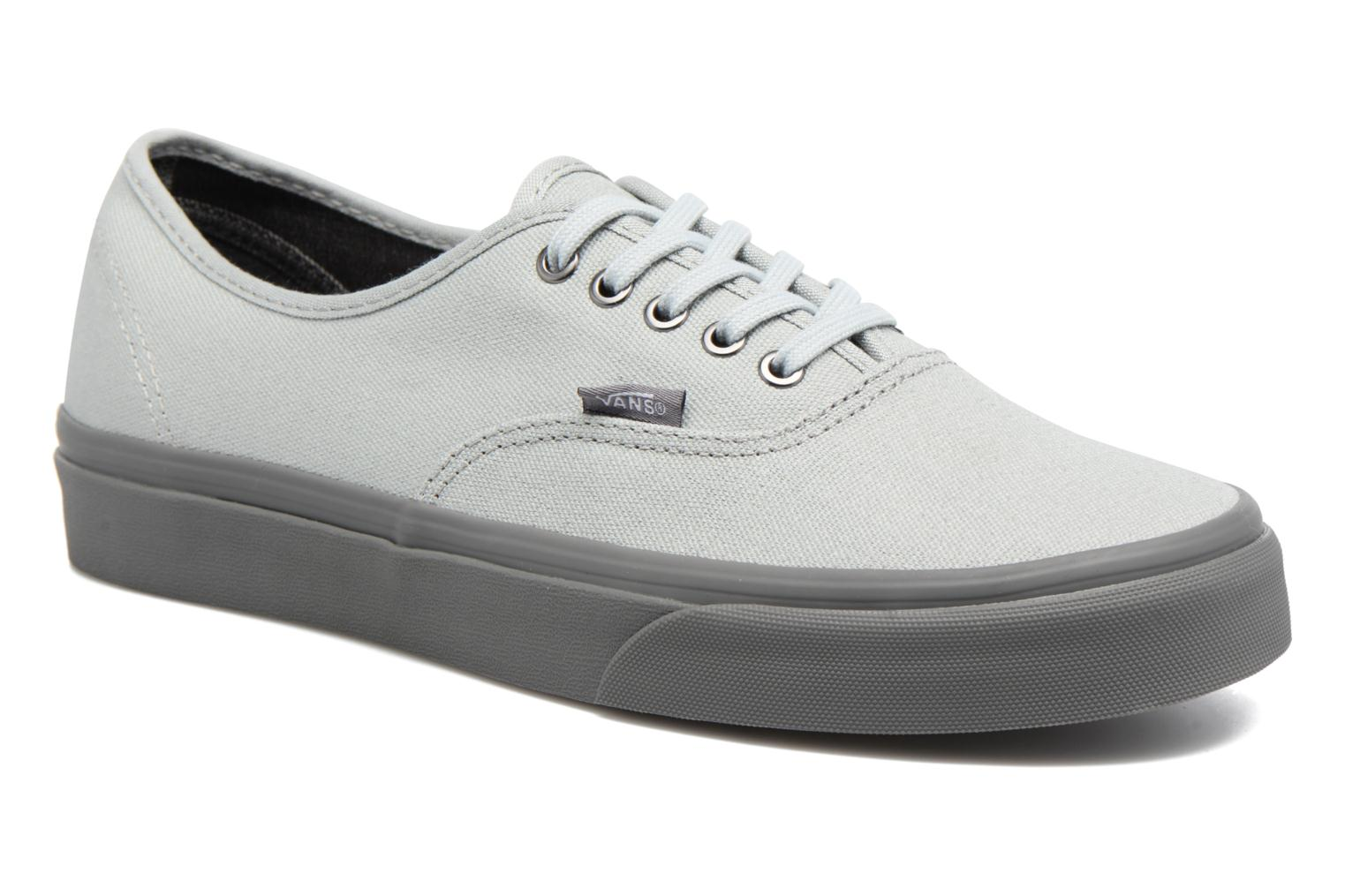 Trainers Vans Authentic Grey detailed view/ Pair view