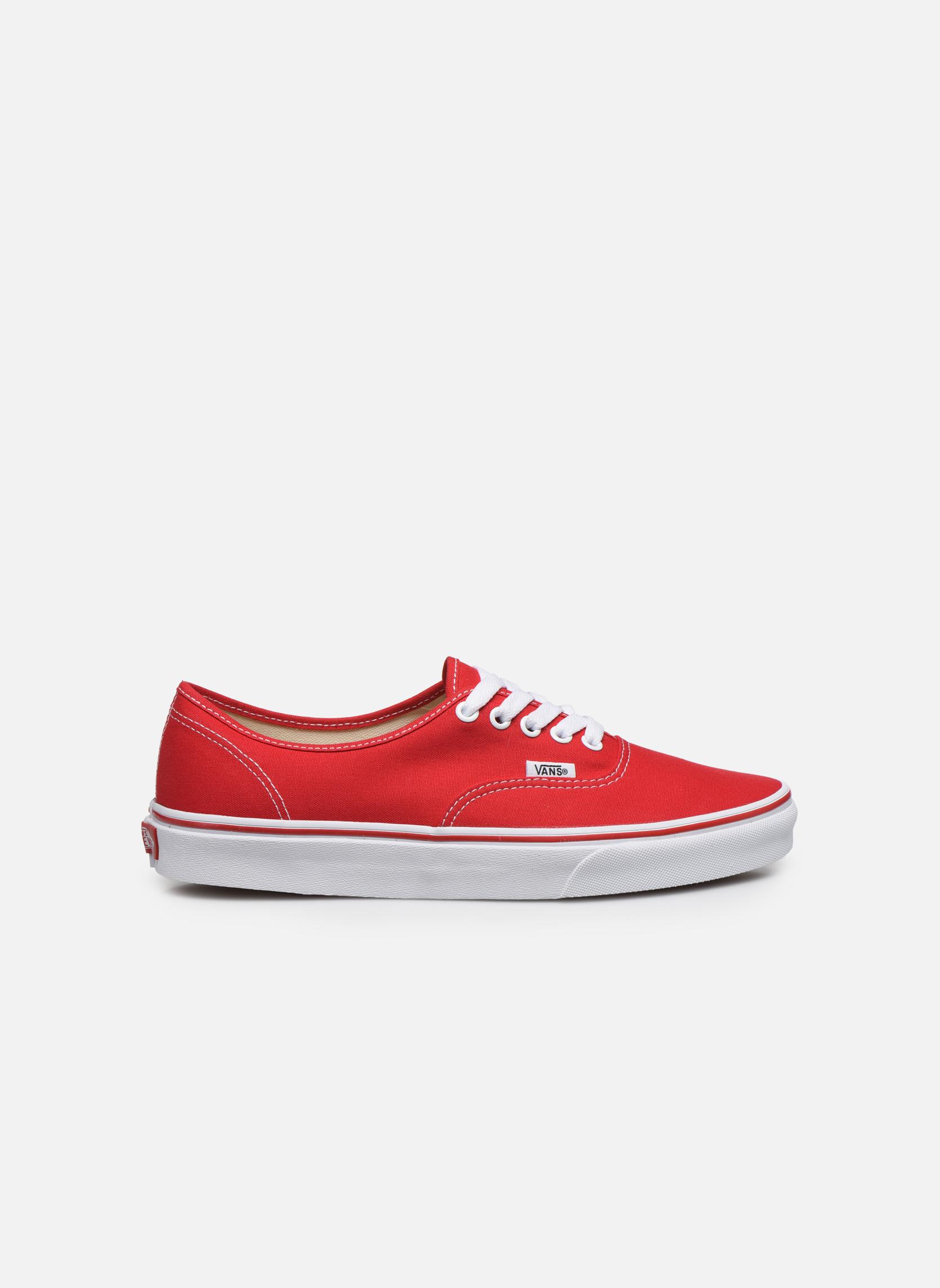 Sneakers Vans Authentic Röd bild från baksidan