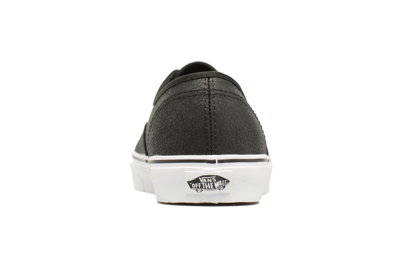 Sneakers Vans Authentic Svart Bild från höger sidan