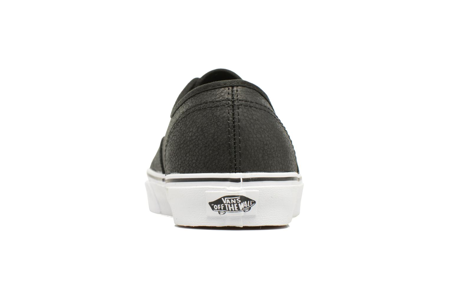 Sneakers Vans Authentic Zwart rechts