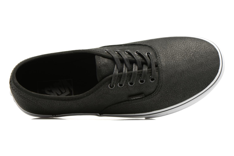Sneakers Vans Authentic Svart bild från vänster sidan