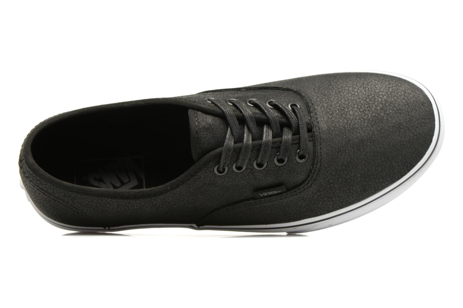 Baskets Vans Authentic Noir vue gauche