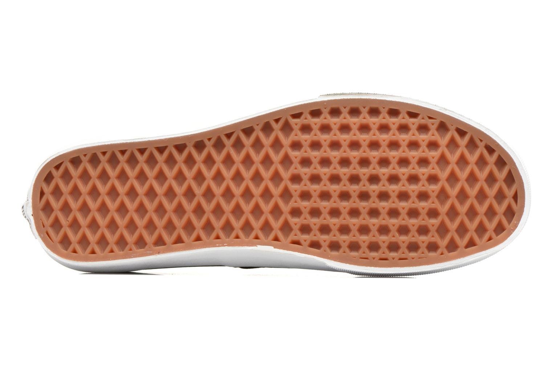 Sneakers Vans Authentic Svart bild från ovan