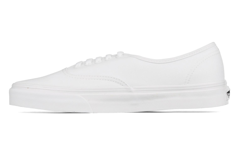 Sneaker Vans Authentic weiß ansicht von vorne
