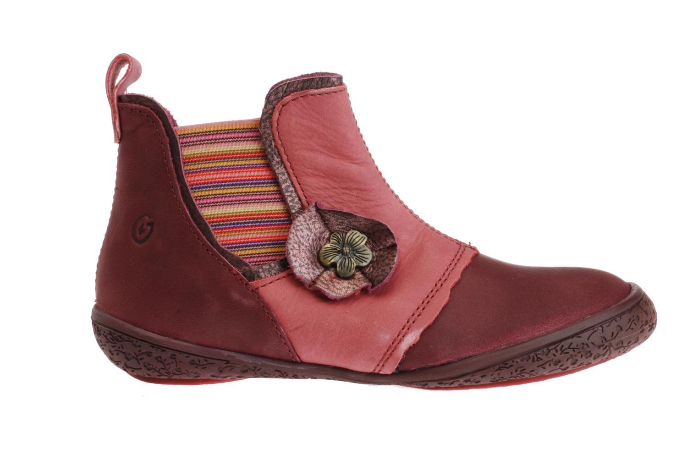 Bottines et boots GBB Diadème Rose vue derrière