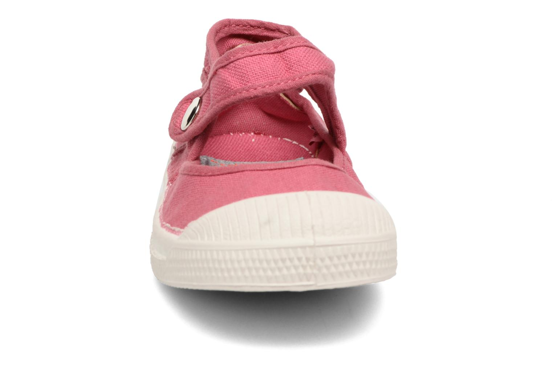 Ballerines Bensimon Marie Jane E Rose vue portées chaussures