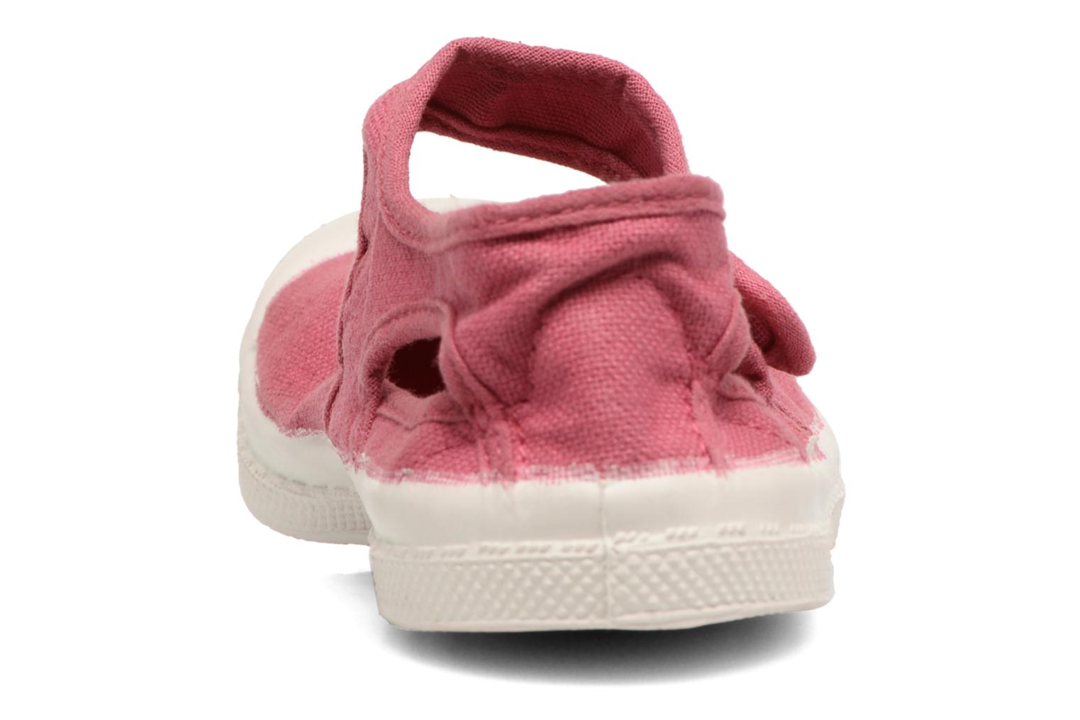 Ballet pumps Bensimon Marie Jane E Pink view from the right