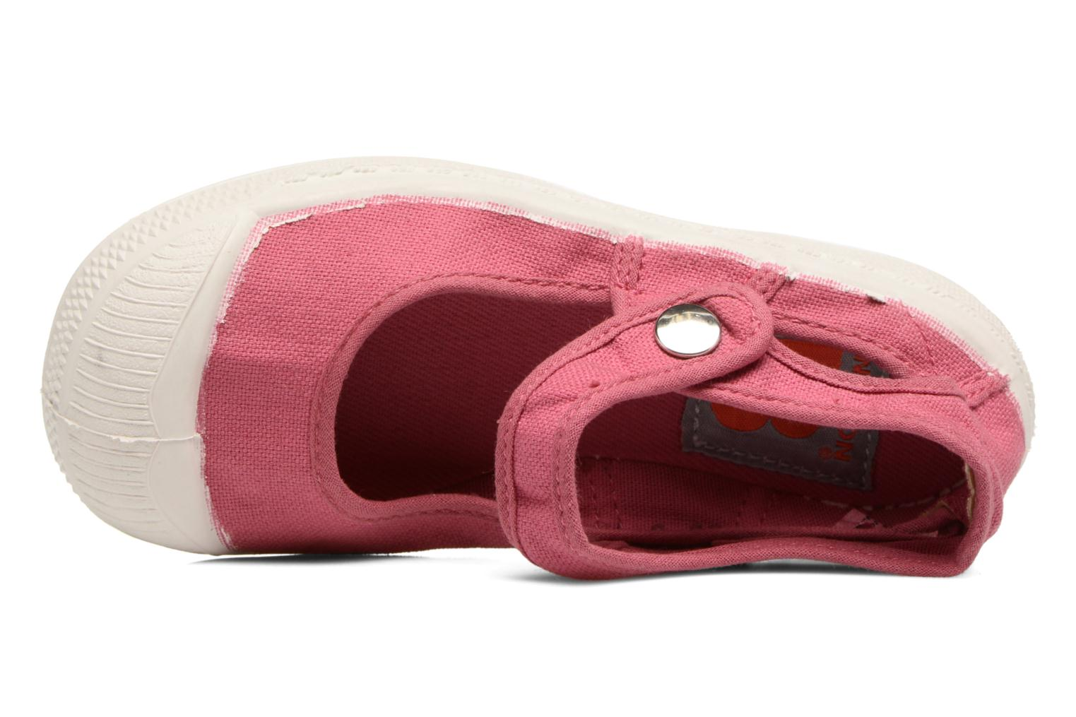 Ballet pumps Bensimon Marie Jane E Pink view from the left