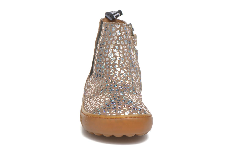 Bottines et boots Pom d Api Walk Jodpur Basic Beige vue portées chaussures