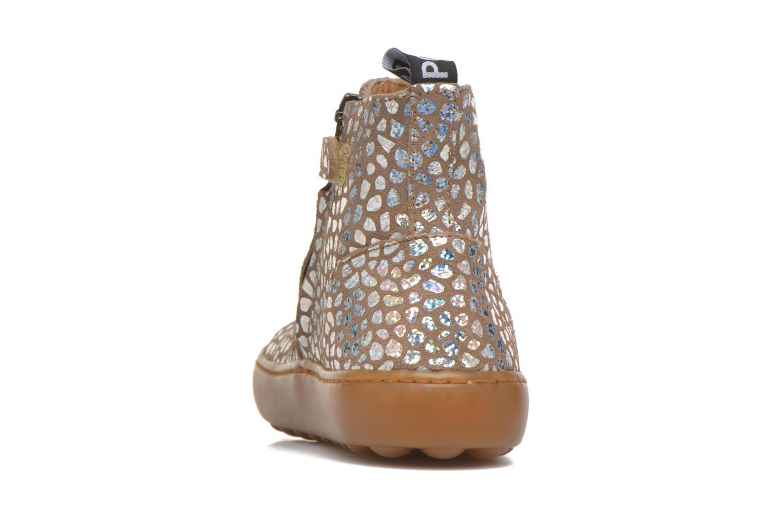 Bottines et boots Pom d Api Walk Jodpur Basic Beige vue droite