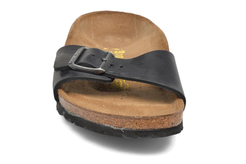 Mules et sabots Birkenstock Madrid Cuir W Noir vue portées chaussures