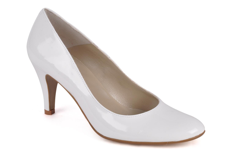Zapatos de tacón Perlato Lucie Blanco vista de detalle / par