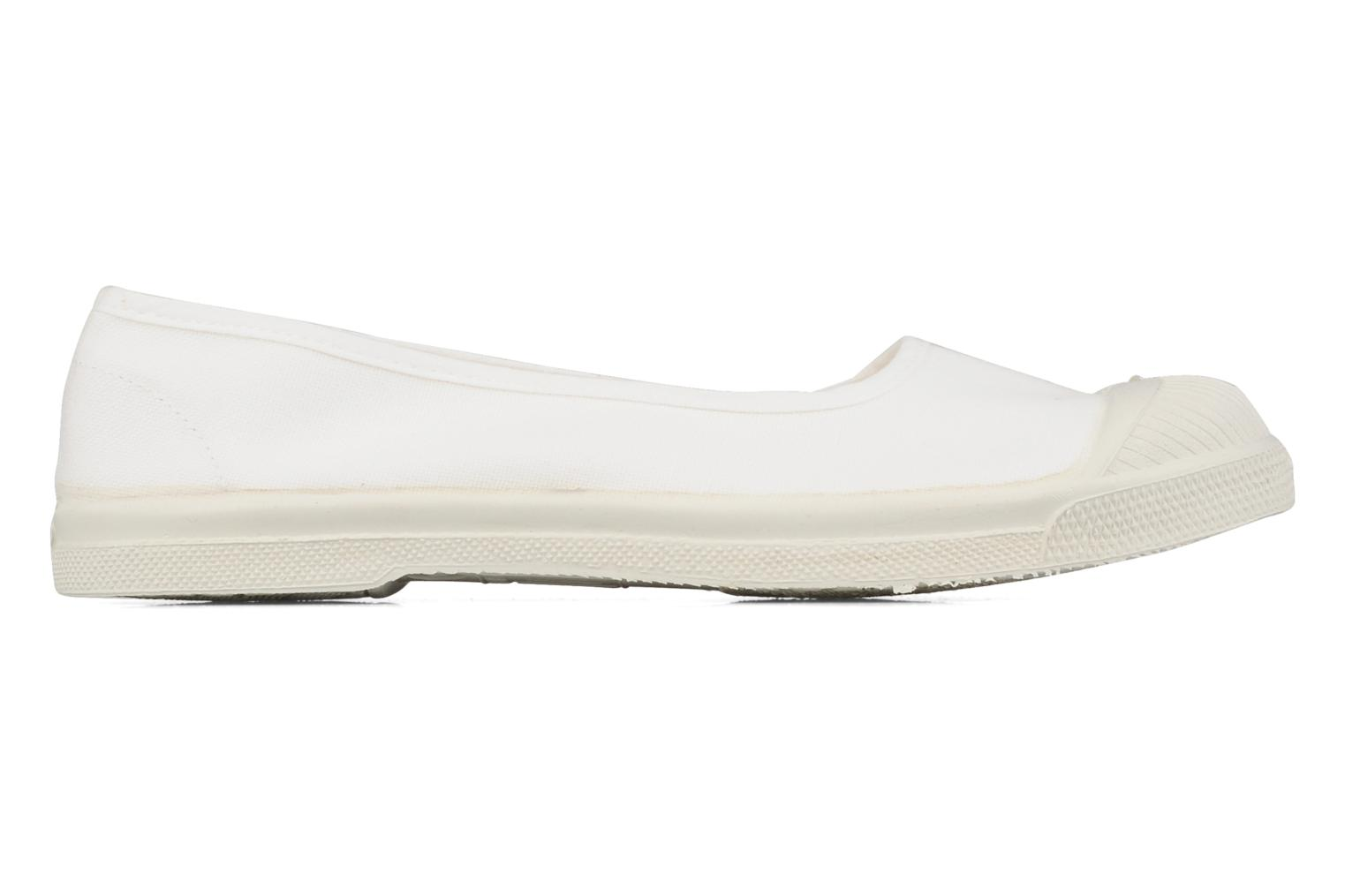 Ballet pumps Bensimon Ballerine White back view