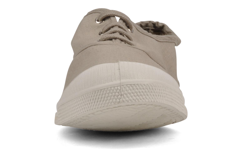 Sneakers Bensimon Tennis Lacets H Beige bild av skorna på