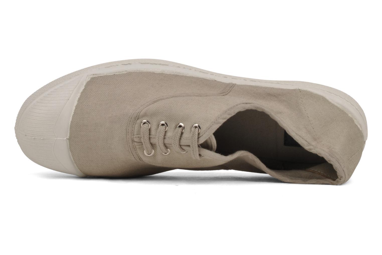 Sneakers Bensimon Tennis Lacets H Beige bild från vänster sidan