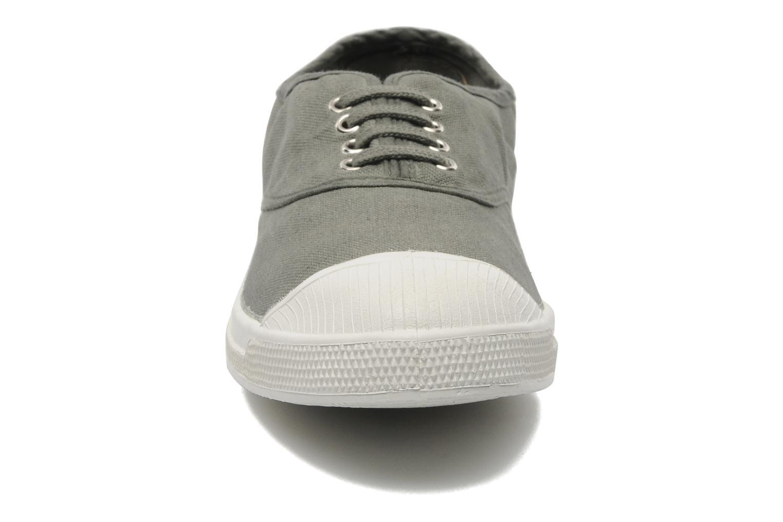 Baskets Bensimon Tennis Lacets H Gris vue portées chaussures