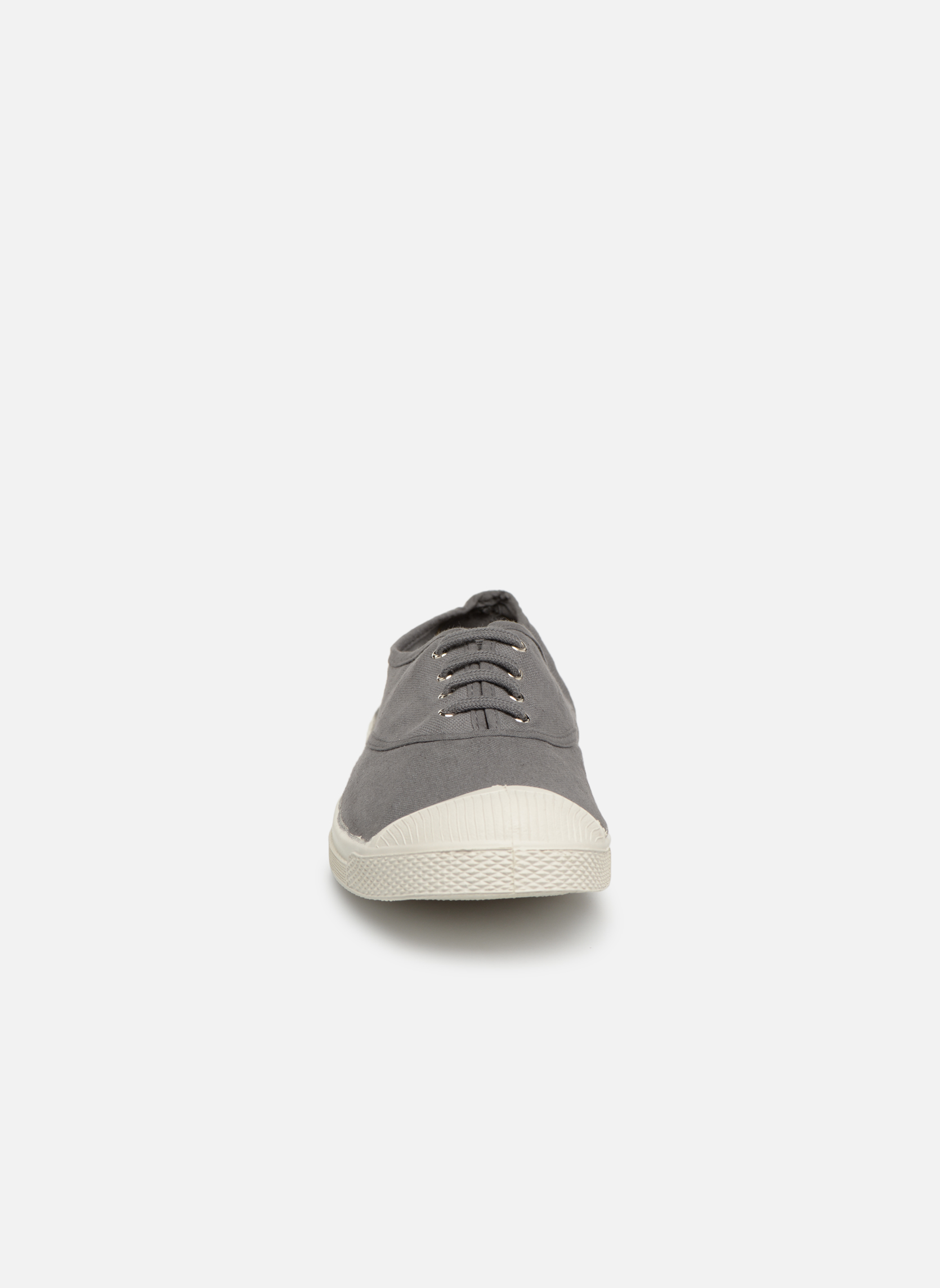 Trainers Bensimon Tennis Lacets H Grey model view