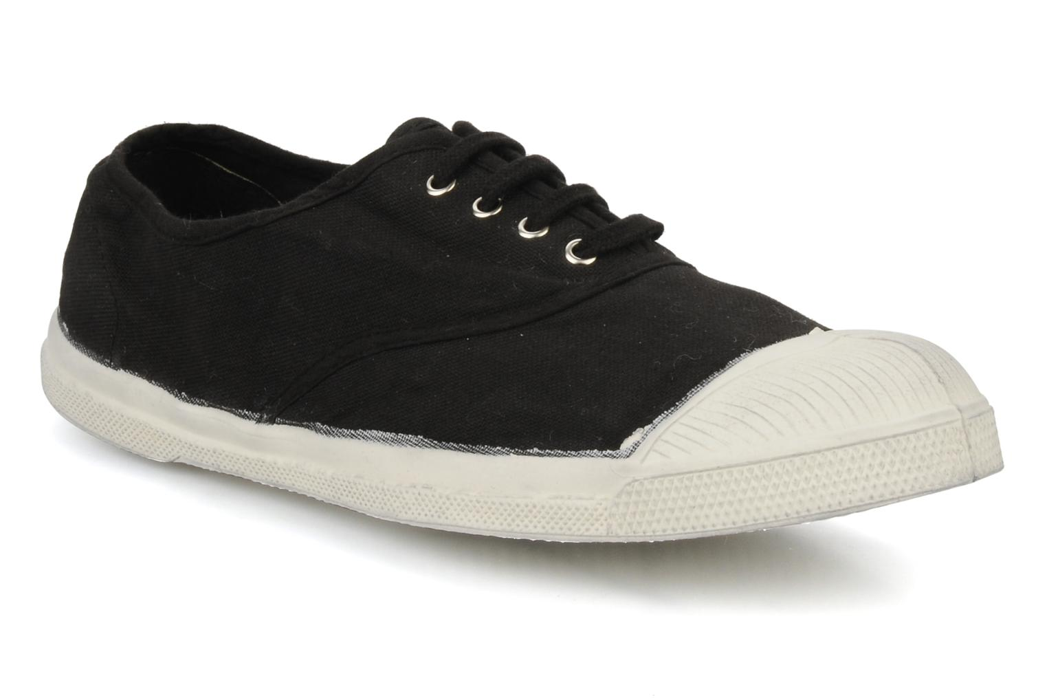 Trainers Bensimon Tennis Lacets H Black detailed view/ Pair view