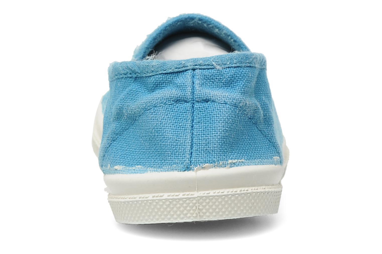 Sneakers Bensimon Tennis Elastique E Blå Se fra højre