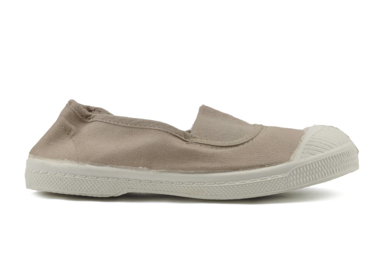Trainers Bensimon Tennis Elastique E Beige back view