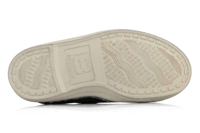 Sneaker Bensimon Tennis Elastique E braun ansicht von oben