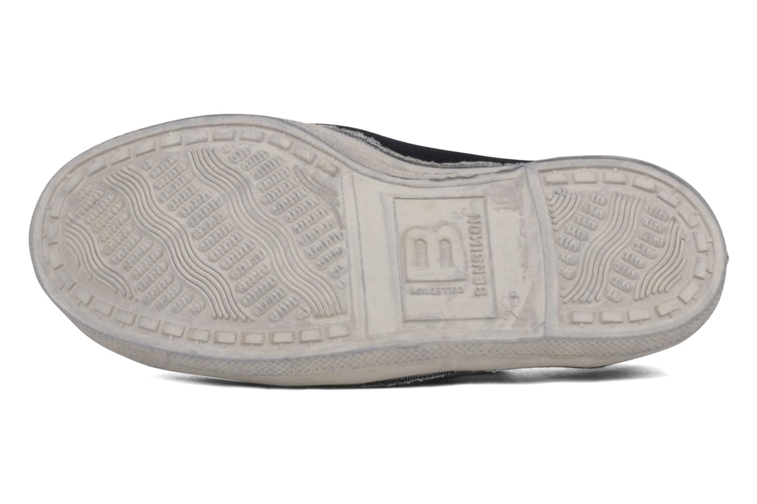 Trainers Bensimon Tennis Elastique E Blue view from above