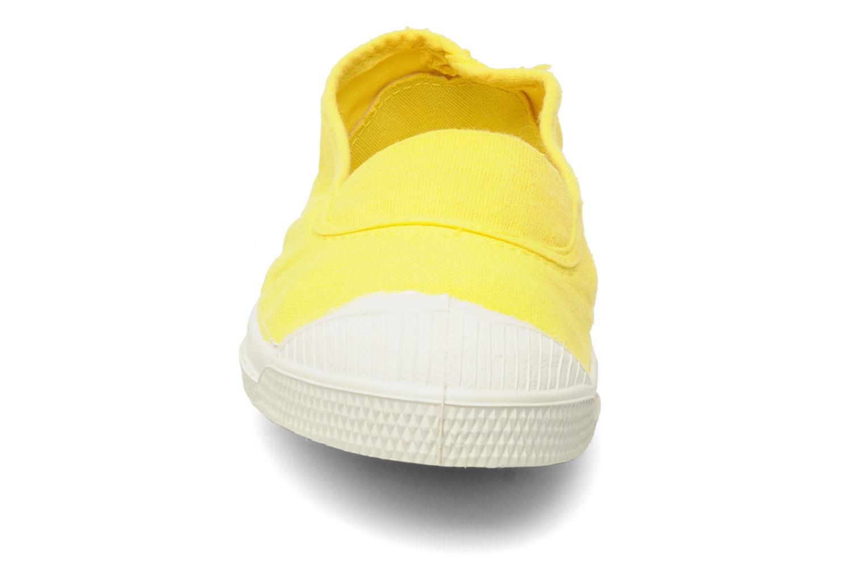 Sneaker Bensimon Tennis Elastique E gelb schuhe getragen