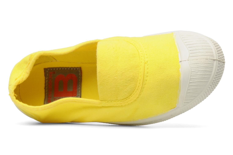 Sneaker Bensimon Tennis Elastique E gelb ansicht von links