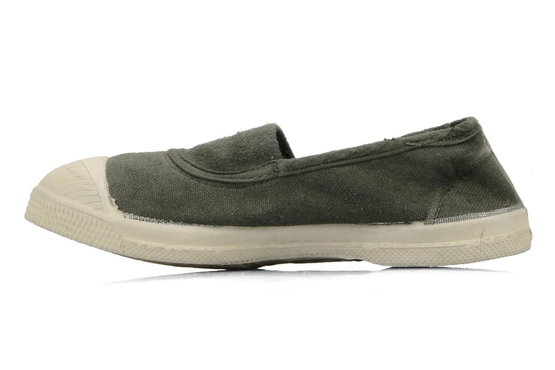 Sneakers Bensimon Tennis Elastique E Groen voorkant